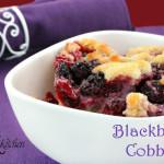 Fresh Blackberry Cobbler