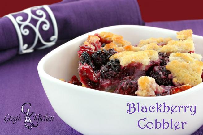 blackberrry cobbler