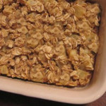 Susan Greenes' Apple Cinnamon Oatmeal Casserole