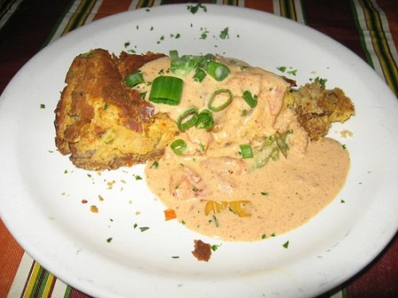 Alligator sausage and shrimp cheesecake gregs kitchen now i have not had this or made this myself yet but let me tell you after seeing this on the food network you know i had to investigate forumfinder Choice Image