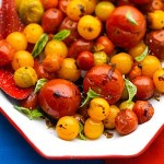 Oven Roasted Tomato's