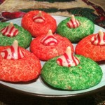 Peppermint Kiss Christmas Cookies