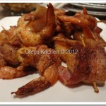 Cajun Bacon Wrapped Shrimp Appetizers