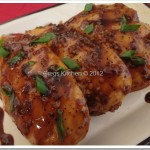 Bourbon-Molasses Glazed Chicken