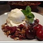 Gregs' Dark Cherry Crisp