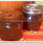 Pumpkin Butter with Dark Chocolate Dip