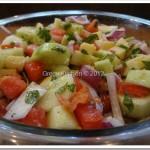 Summer Tomato Cucumber Salad