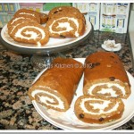 Gladys' Pumpkin Roll