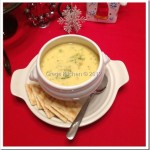 Mom's Cheddar Broccoli Soup