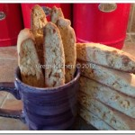 Peanut – White Chocolate Chip Biscotti