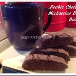 Double Chocolate Mochaccino Bacon Biscotti