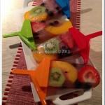 Chloie's Fruit Popsicles
