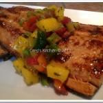 Caribbean Jerk Salmon