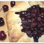 Chloie's Rustic Cherry Tart