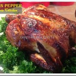 Lemon Pepper Rotisserie Chicken