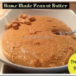 Home Made Peanut Butter
