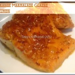 Pan Seared Orange Marmalade Glazed Salmon