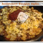 Southwestern Cast Iron Breakfast Skillet