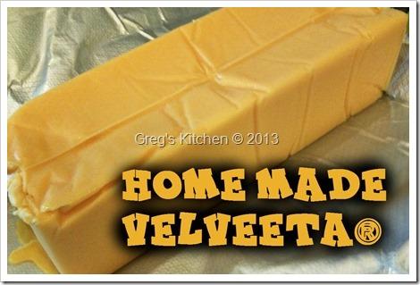 Homemade Velveeta ® | Greg's Kitchen