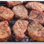Grilled & Seasoned Pork Chops