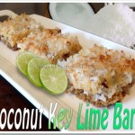Coconut Key Lime Magic Bars