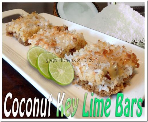 Coconut Key Lime Magic Bars Greg S Kitchen