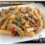 Creamy Pepper and Greens Chicken Pasta