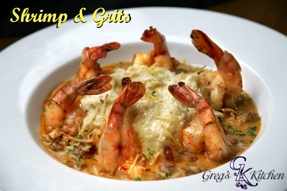 Shrimp & Grits by Greg's Kitchen @FoodBlogs