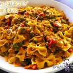 Spicy Sausage & Cream Pasta