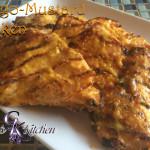 Mango Mustard Grilled Chicken