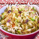 Cran-Apple-Almond Coleslaw