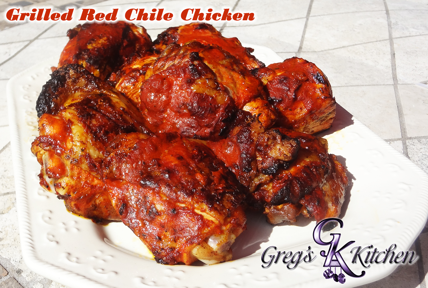 Grilled Red Chile Chicken