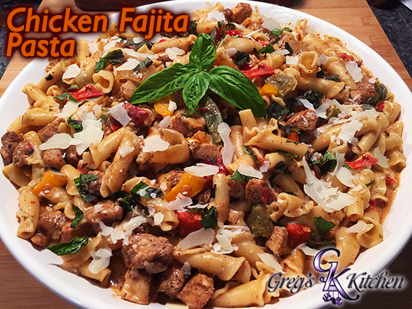 Chicken Fajita Pasta Multi Cooker Greg S Kitchen