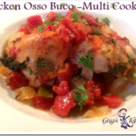 Chicken Osso Buco - Multi Cooker Version