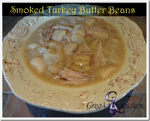 Greg S Smoked Turkey Wing Southern Butter Beans Greg S Kitchen