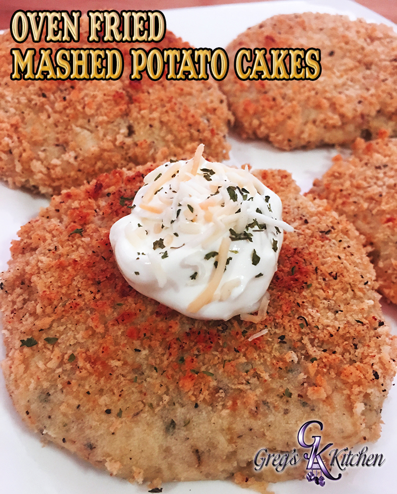 how to make potato cakes in the oven