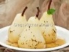 Cinnamon Ginger Sauced Poached Pears