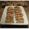 Blackberry Ginger Balsamic Biscotti with Chocolate Chunks: